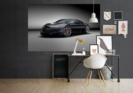Sportwagen super sports car wall murals - S